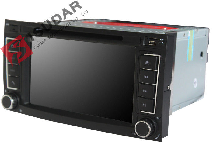 Front USB Output VW Transporter Dvd Player , Volkswagen Touch Screen Multimedia Player