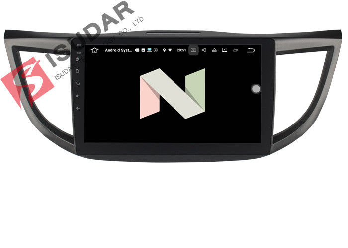 Honda Crv Car Stereo Backup Camera Gps , Wireless Android Auto Car Head Unit