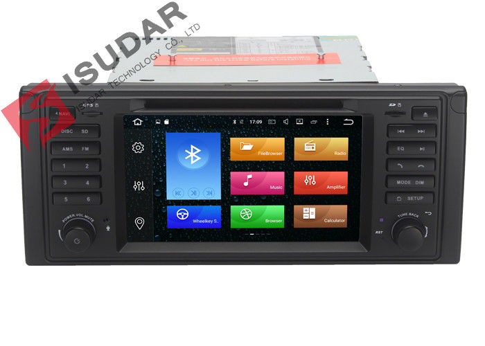 Octa Core Android 6.0 DVD GPS Navigation For BMW BMW 5 Series Head Unit 2G RAM 32G ROM