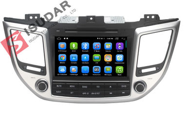 Estéreo capacitivo do carro de Android de 8 polegadas do multi toque, reprodutor de DVD 2015 de Hyundai Tucson